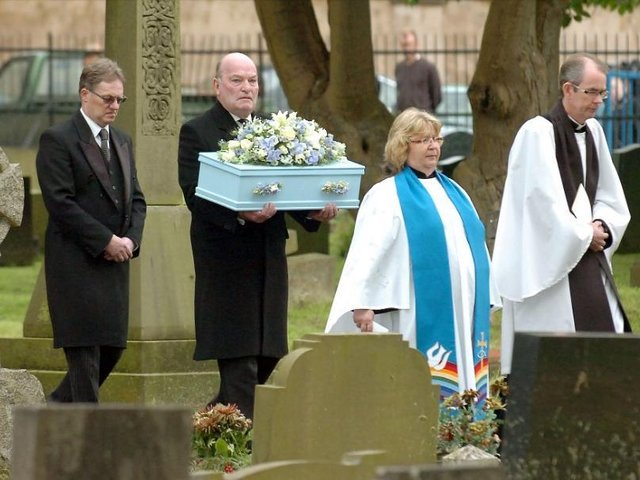 The funeral of 'Baby Boy'