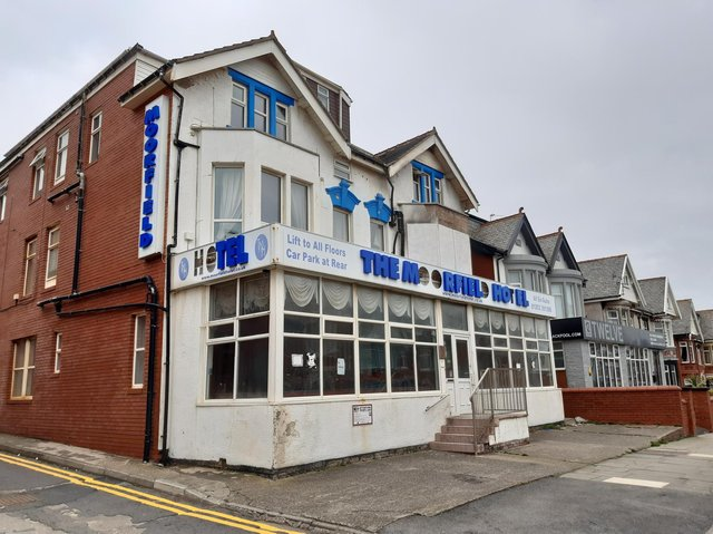 The closed down Moorfield Hotel. Picture by Dan Martino