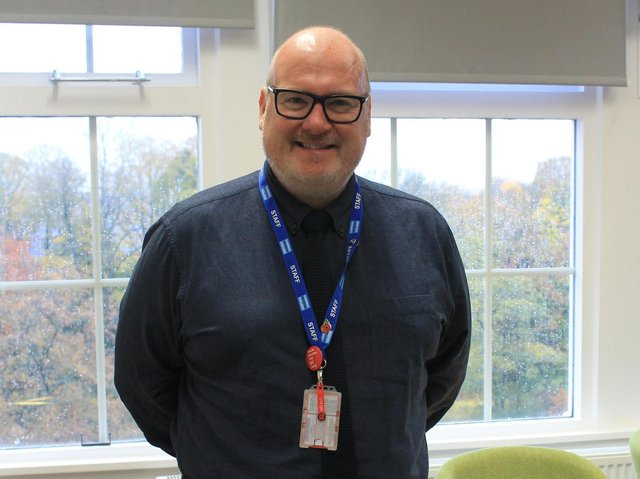 Nick Burnham, principal of Cardinal Newman College in Preston, which has partnered with Lancaster University for the maths school venture. Pupils will be drawn from across Lancashire.