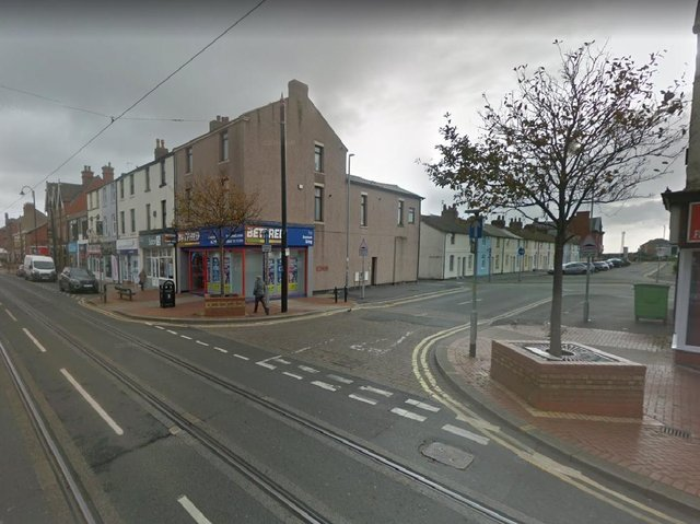 The body of a man in his 40s was found in a flat above Bedfred in Lord Street, Fleetwood yesterday (Tuesday, March 23). Pic: Google