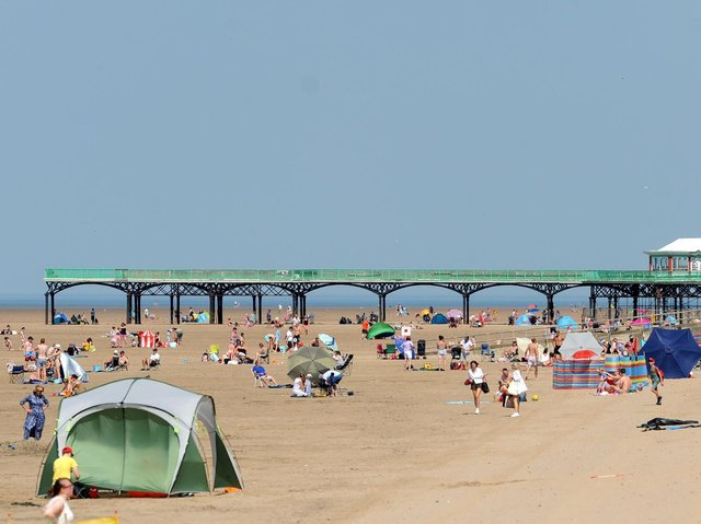 Visitors who live away from the Fylde coast are being urged not to visit before April 12 by Fylde and Wyre council leaders. Photo: Daniel Martino/JPI Media