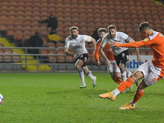 Jerry Yates bagged a brace to take his tally to 16 goals this season