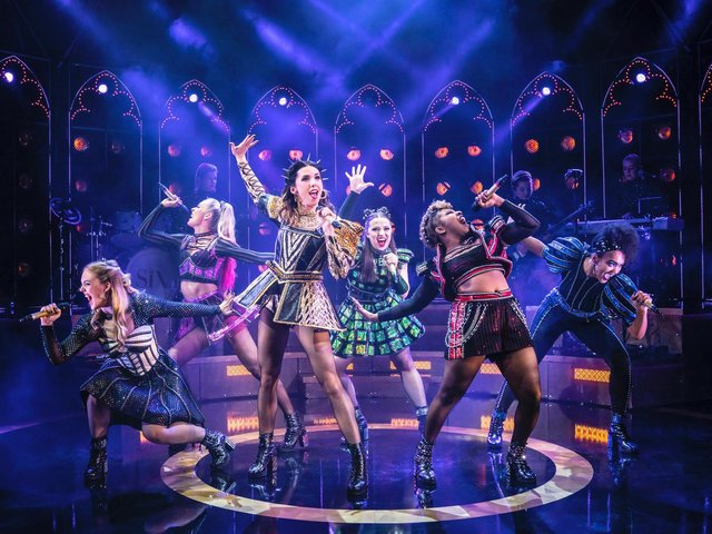 International smash hit Six comes to Blackpool Opera House in July. Pictures Johan Persson