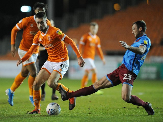 Ryan Hardie had a difficult time after joining Blackpool