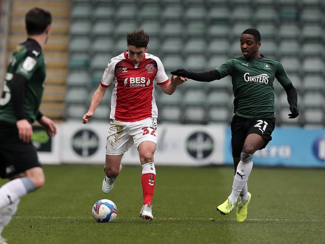 Fleetwood Town defender Harrison Holgate Picture: Dave Peters/PRiME Media Images Limited