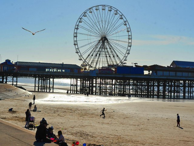 """Blackpool Council said it will """"roll out the welcome mat"""" to tourists from April 12."""