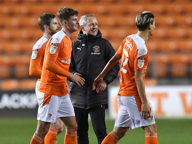 Blackpool head coach Neil Critchley had a message for his players
