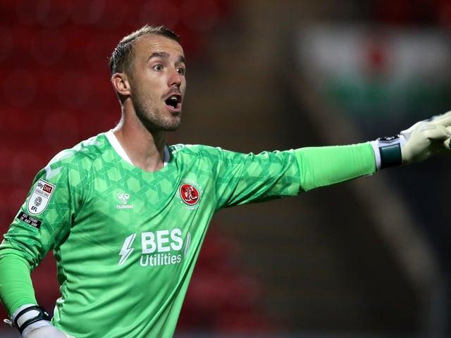 Fleetwood Town keeper Alex Cairns