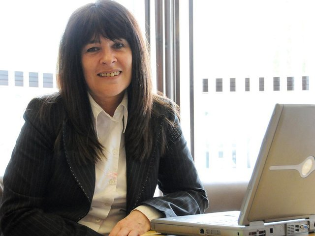 Babs Murphy from the North and Western Lancashire Chamber of Commerce