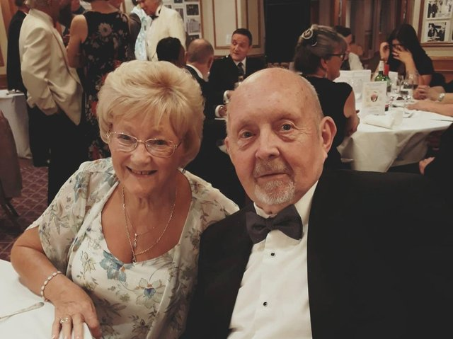 Brendene and Keith Hardy, from Poulton, celebrate their 60th wedding anniversary