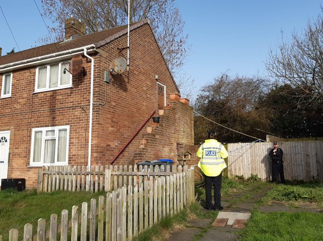Police found the body of a woman in her 40s inside the home in Dinmore Avenue after they were called to reports of a stabbing at around 9.30pm last night (Monday, March 29). A 62-year-old man has been arrested on suspicion of murder
