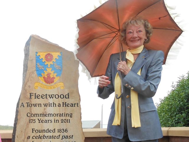 Doreen Lofthouse supported numerous projects in Fleetwood