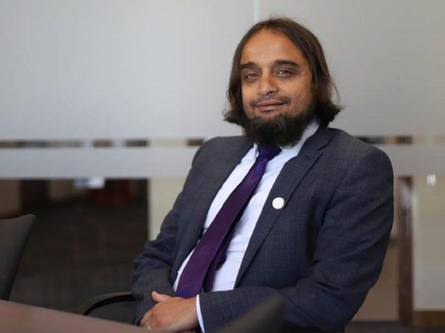 Dr Arif Rajpura who has warned about the loss of young lives from substance misuse