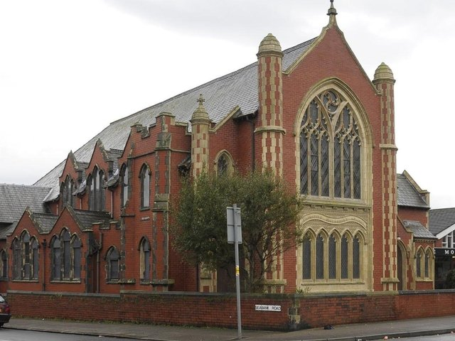 The former Mount Methodist Church in Fleetwood which is now home to Emmanuel Church