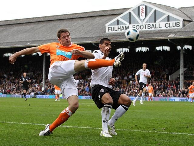 Blackpool endured defeat on their trip to Fulham