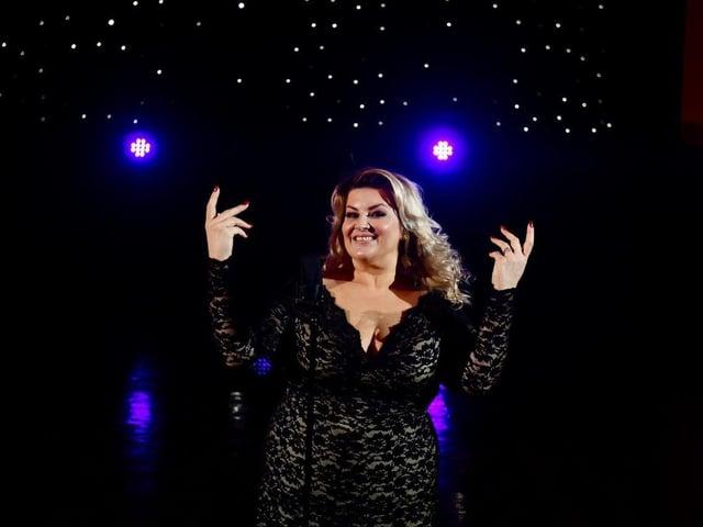 Jodie Prenger in West End in Blackpool