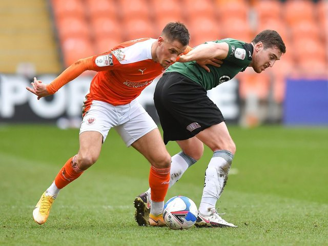 Blackpool head into today's game on the back of a draw with Plymouth Argyle