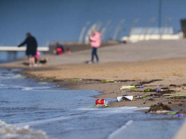 Resort residents are being reminded to keep it clean by local councils ahead of the sunny weather forecast for this bank holiday weekend. Photo: Daniel Martino/JPI Media