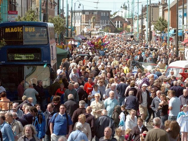 Tram Sunday, pictured here in 2008, pulls in thousands of visitors