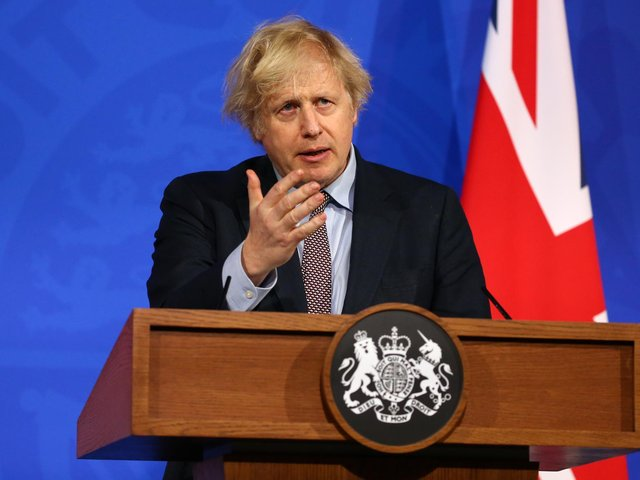 Boris Johnson warns public not to meet loved ones indoors over Easter