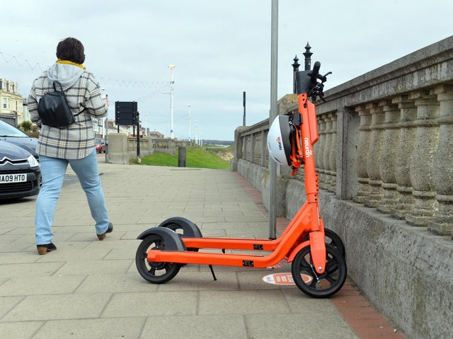 The Road Safety Partnership is reminding people it is illegal to ride e-scooters on a public road or pavement
