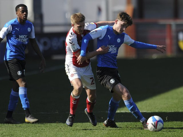 Fleetwood Town midfielder Dan Batty Picture: PRiME Media Images Limited