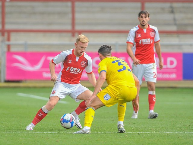 Fleetwood Town's Mark Duffy is back in training Picture: Stephen Buckley/PRiME Media Images Limited
