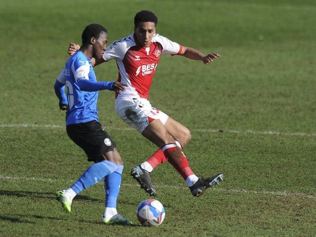 Fleetwood Town defender James Hill impressed again on Friday Picture: Greig Bertram/PRiME Media Images Limited