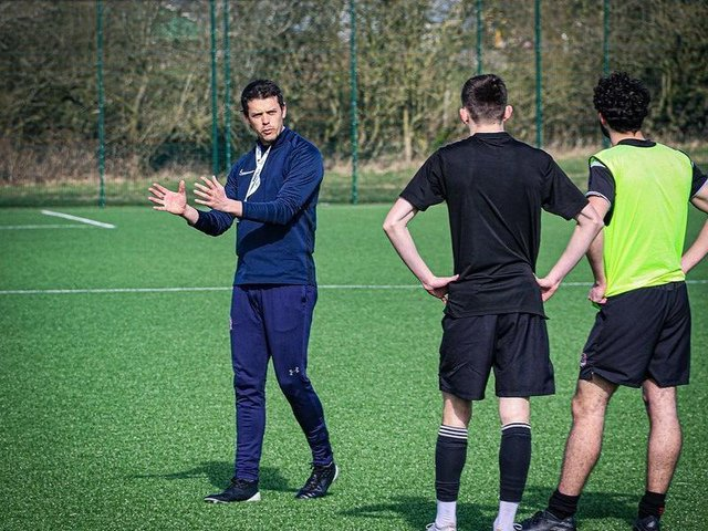 AFC Fylde youth team boss Conrad Prendergast Picture: AFC Fylde
