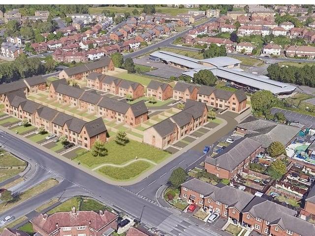Grange Park development plans 1