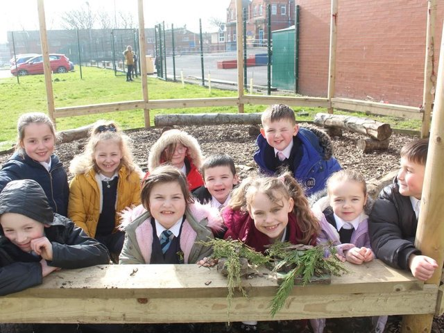 Pupils learn about nature at Westminster Academy