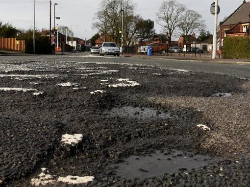 Cash will be spent on fixing potholes