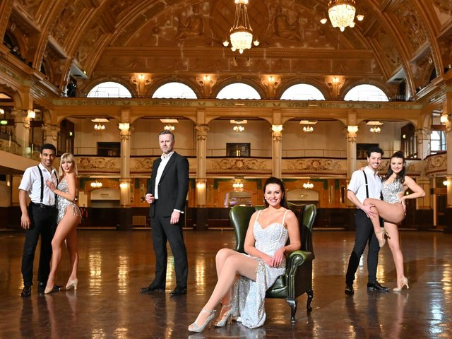 Some of the cast of West End Blackpool