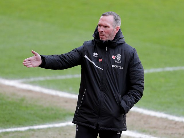 Lincoln City manager Michael Appleton has been praised by Neil Critchley
