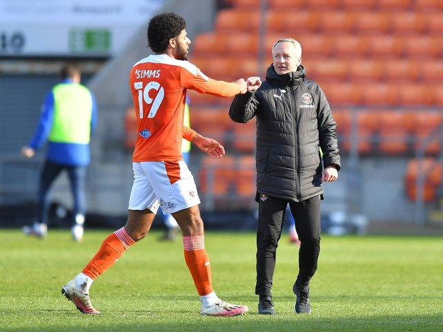 Neil Critchley has been pleased with the attitude shown by Blackpool's players