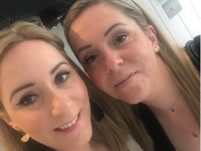 Natasha and Natalie of the Heir salon in Lytham