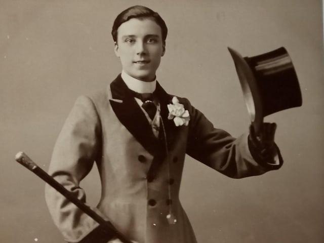 A 1907 postcard of Hetty King