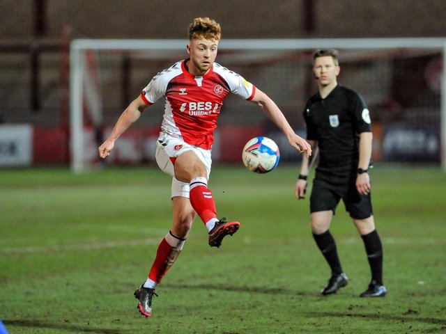 Fleetwood Town midfielder Callum Camps Picture: Stephen Buckley/PRiME Media Images Limited