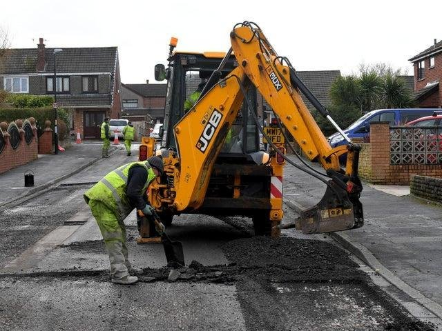 Fleetwood residents were unhappy after the town was not included in the latest round of works to repair potholes