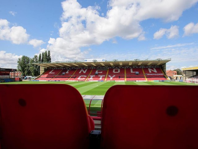 Sincil Bank is the venue for today's crunch game