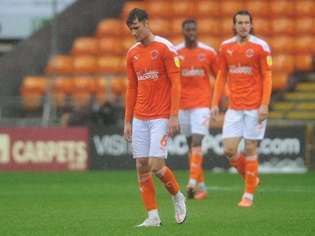 Blackpool suffered defeat to Lincoln City earlier in the season