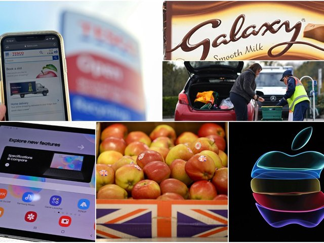 Shoppers could find apples swapped for Apple devices