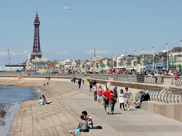 Blackpool shops, gyms, beer gardens and hairdressers are reopening