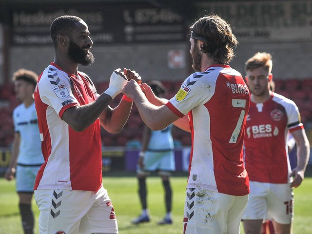 Fleetwood Town made it consecutive wins on Saturday Picture: Stephen Buckley/PRiME Media Images Limited