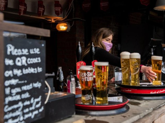 """Pub and hospitality bosses have said they will """"not get too excited"""""""