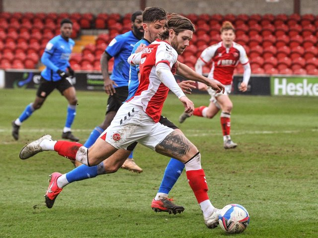 Fleetwood Town's Wes Burns Picture: Stephen Buckley/PRiME Media Images Limited