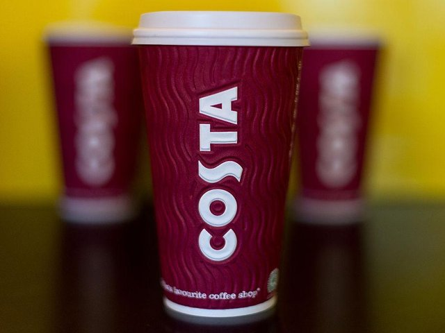 Costa is offering 50p hot drinks