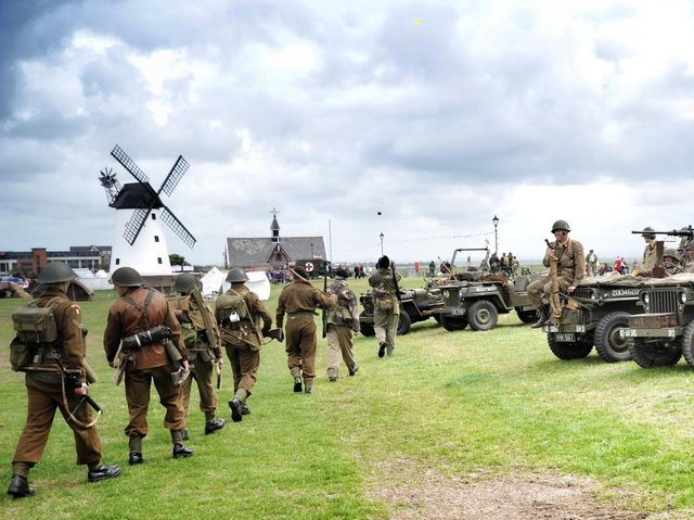 A previous Lytham 1940s Wartime Weekend