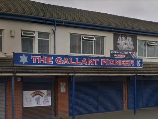 Blackpool's Rangers pub, The Gallant Pioneer.