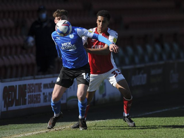 Fleetwood Town defender James Hill Picture: Stephen Buckley/PRiME Media Images Limited